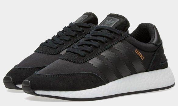 Фото Adidas Iniki Runner Boost черные - 3