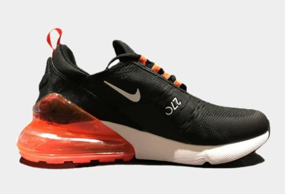 Фото Nike Air Max 270 Black-White-Red - 1