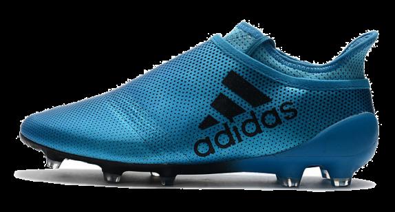 Фото Adidas X 17 Purechaos FG Синие - 1